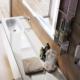 Umywalka z szafką Zero Z21611 Qin