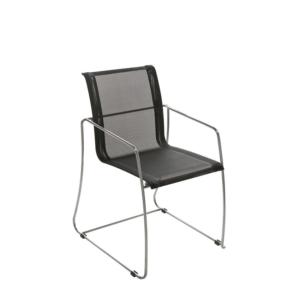 Zewnętrzne krzesło jadalne Avalon