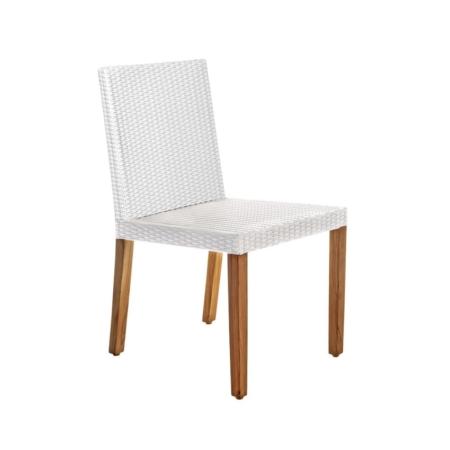 Zewnętrzne krzesło jadalne Fiji