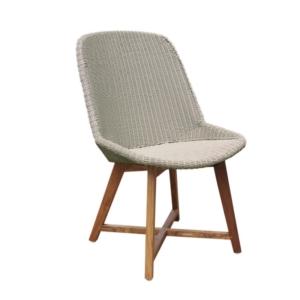Zewnętrzne krzesło jadalne Gipsy