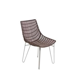 Zewnętrzne krzesło jadalne Infinity