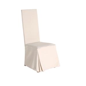 Zewnętrzne krzesło jadalne z wysokim oparciem Ratio