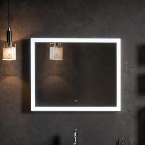 Dekoracyjne lustro łazienkowe z podświetleniem Primus