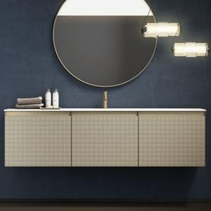 Designerskie meble łazienkowe z umywalką Skin
