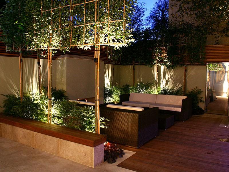 Oświetlenie w ogrodzie 1