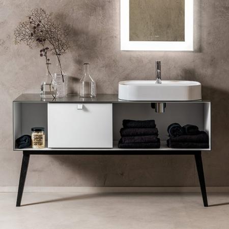 Podwieszana szafka z umywalką Dama wash-basin