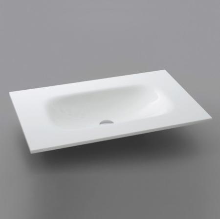 Prostokątne i kwadratowe umywalki łazienkowe wpuszczane w blat Basin Top