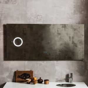 Prostokątne lustro łazienkowe z podświetleniem Oblo