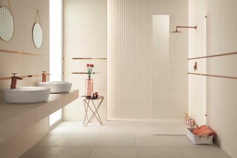 Dekory do łazienki House of tones White STR