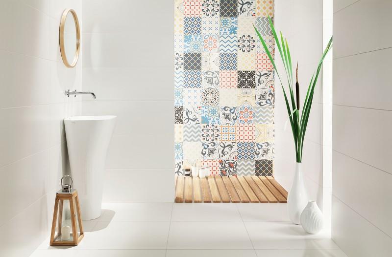Dekory do łazienki Unit Plus Patchwork
