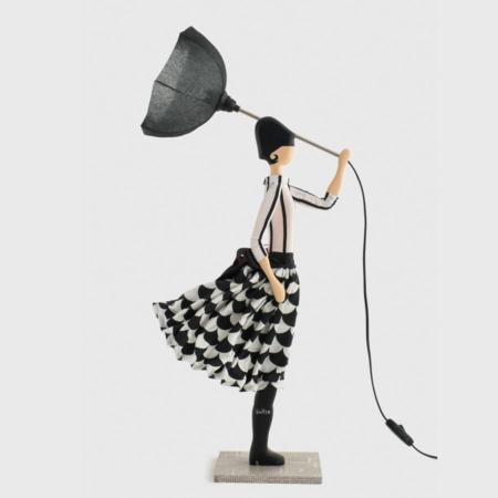 Fioletowa lampka dziewczynka Frida Skitso