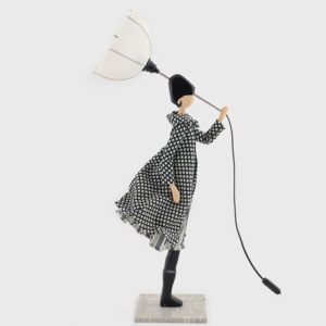 Fioletowa lampka dziewczynka Konsta Skitso