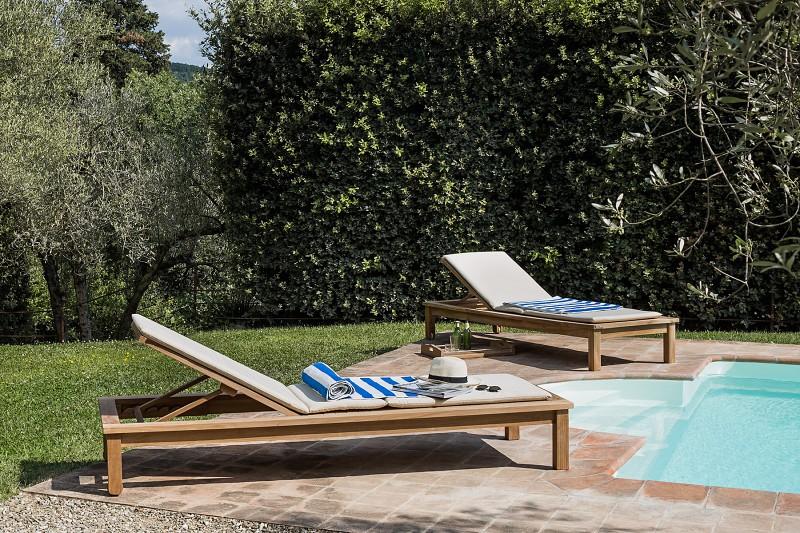 Meble basenowe - Leżak ogrodowySaint Raphael