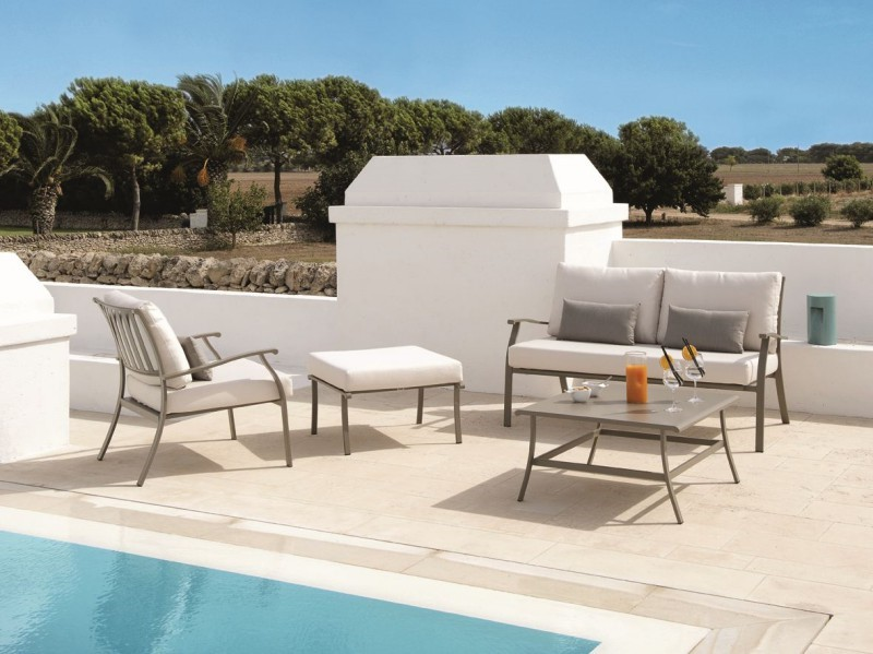 Meble basenowe fotele i ławki Elisir