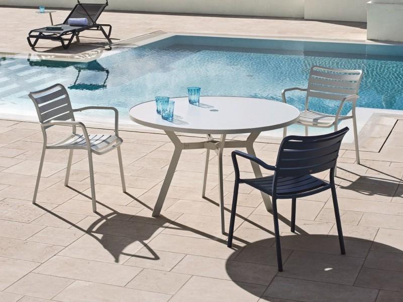 Meble basenowe krzesła i stoliki Ocean
