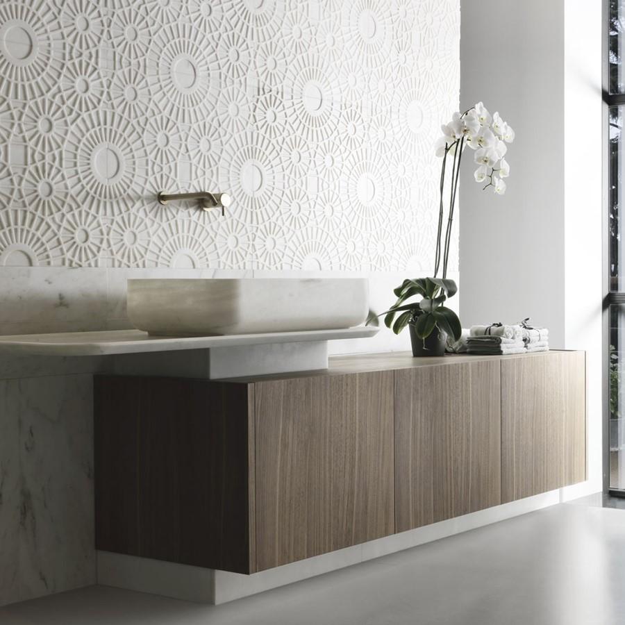 Stylowe meble łazienkowe duża szafka pod umywalkę