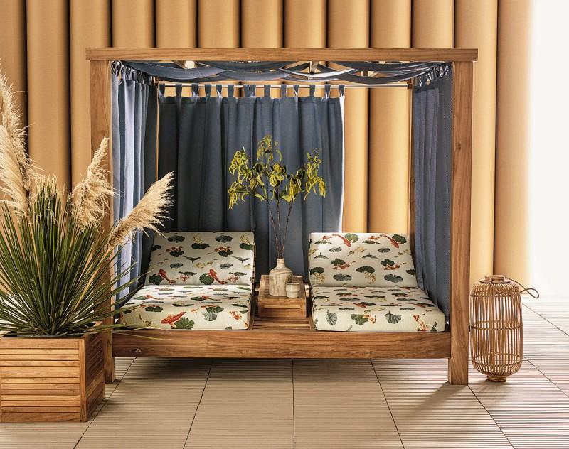 Łóżka ogrodowe Cabana classica