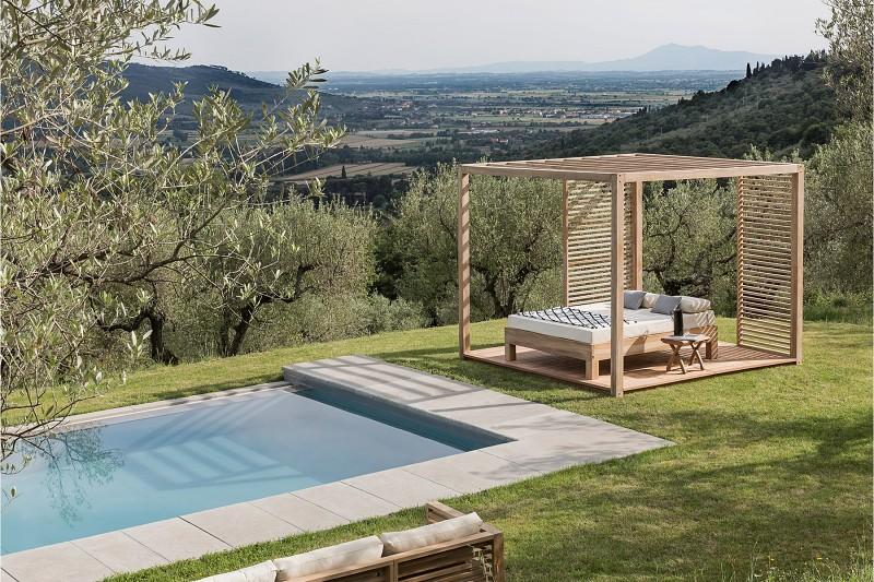 Łóżka ogrodowe Cortona