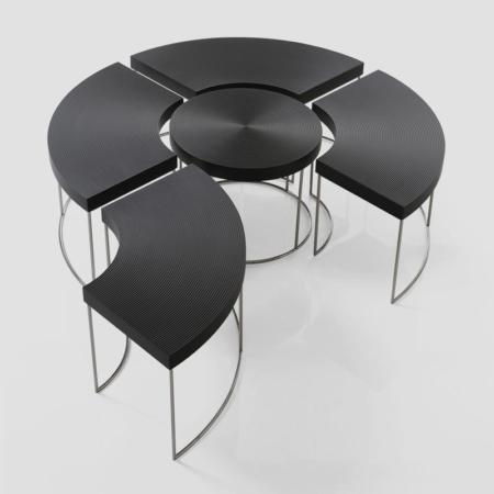 5-częściowy stolik kawowy Sini