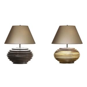 Drewniana lampa stołowa w nowoczesnym stylu Coco