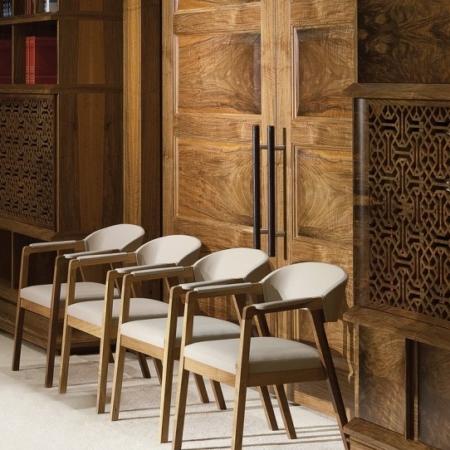 Ekskluzywna biblioteczka ścienna w orientalnym stylu Ottoman