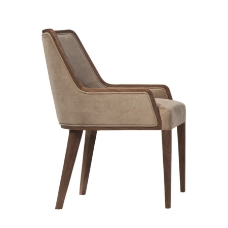 Ekskluzywne krzesła tapicerowane Monaco