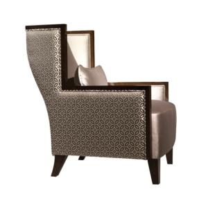 Fotel w orientalnym stylu Seven