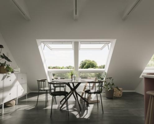 Inteligentne zamykanie i otwieranie okien na poddaszu