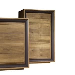 Nowoczesna drewniana komoda Oslo