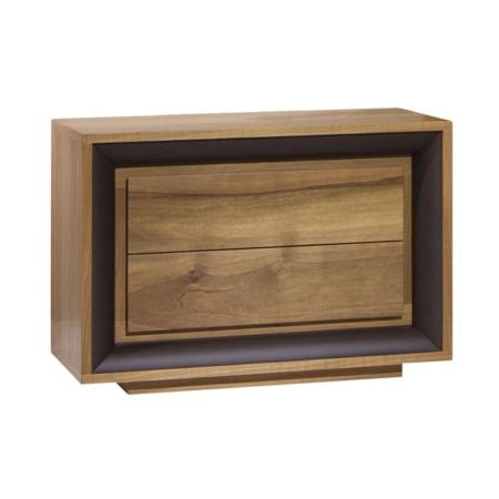 Nowoczesna drewniana szafka nocna Oslo