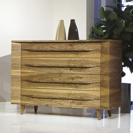 Nowoczesna komoda z drewna Valencia