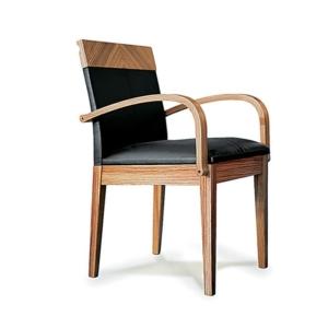 Nowoczesne krzesło z drewna Next