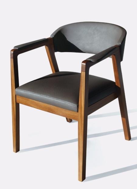 Nowoczesne krzesło z podłokietnikami Calisto