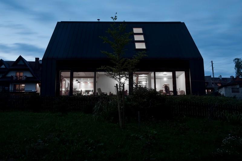 Nowoczesny dom na Podhalu