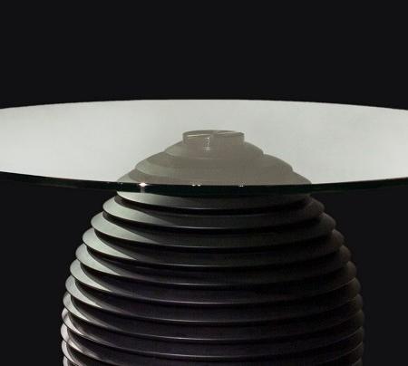Okrągły stół na jednej nodze Coco