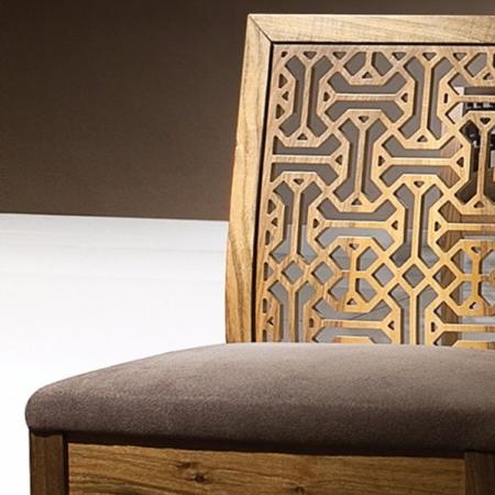 Orientalne krzesło bez podłokietników Ottoman