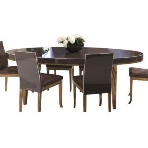 Owalny stół glamour Vouge