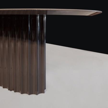 Owalny stół w orientalnym stylu Shanghai