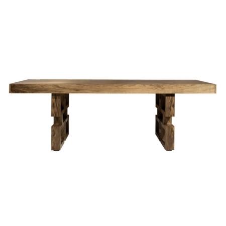 Prostokątny stół z dekoracyjnymi nogami Park