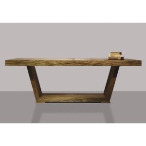 Prostokątny stół z grubego drewna Bridge