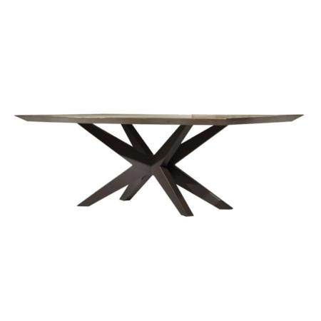 Prostokątny stół z oryginalnymi nogami Power