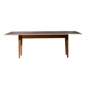 Prostokątny stół z szarym blatem Charm