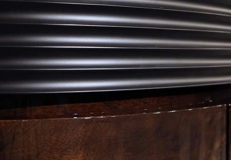 Stylowa komoda drewniana na wysoki połysk Houston