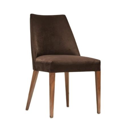 Tapicerowane krzesło bez podłokietników Jersey