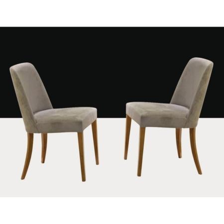 Tapicerowane krzesło w stylu modern classic Mobi