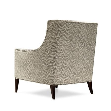 Tapicerowany fotel z podłokietnikami Alfred