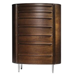 Wysoka komoda z drewna Versa Tall