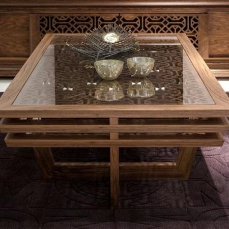 Zdobiony stolik kawowy w orientalnym stylu Ottoman 1