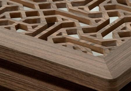 Zdobiony stolik pomocniczy w orientalnym stylu Ottoman 1