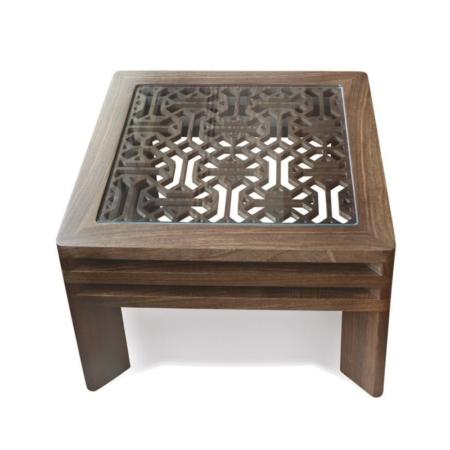 Zdobiony stolik pomocniczy w orientalnym stylu Ottoman